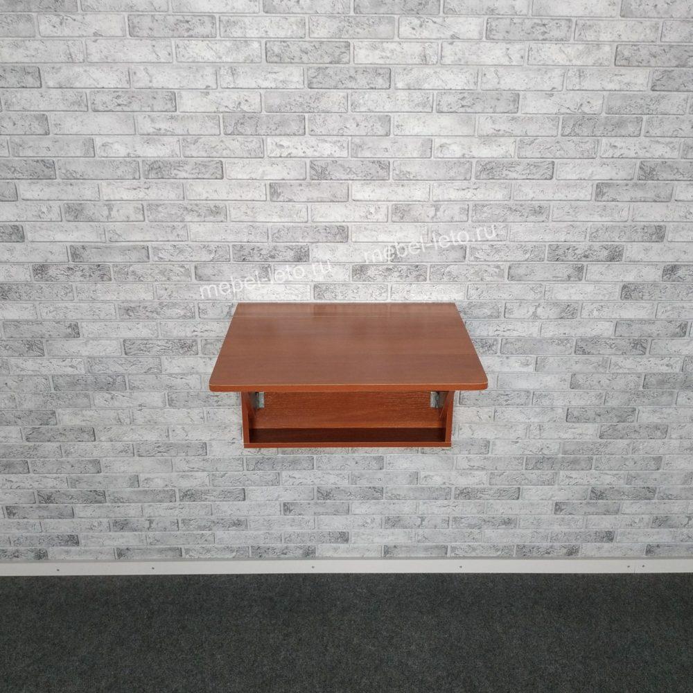 Стол настенный откидной  Орех