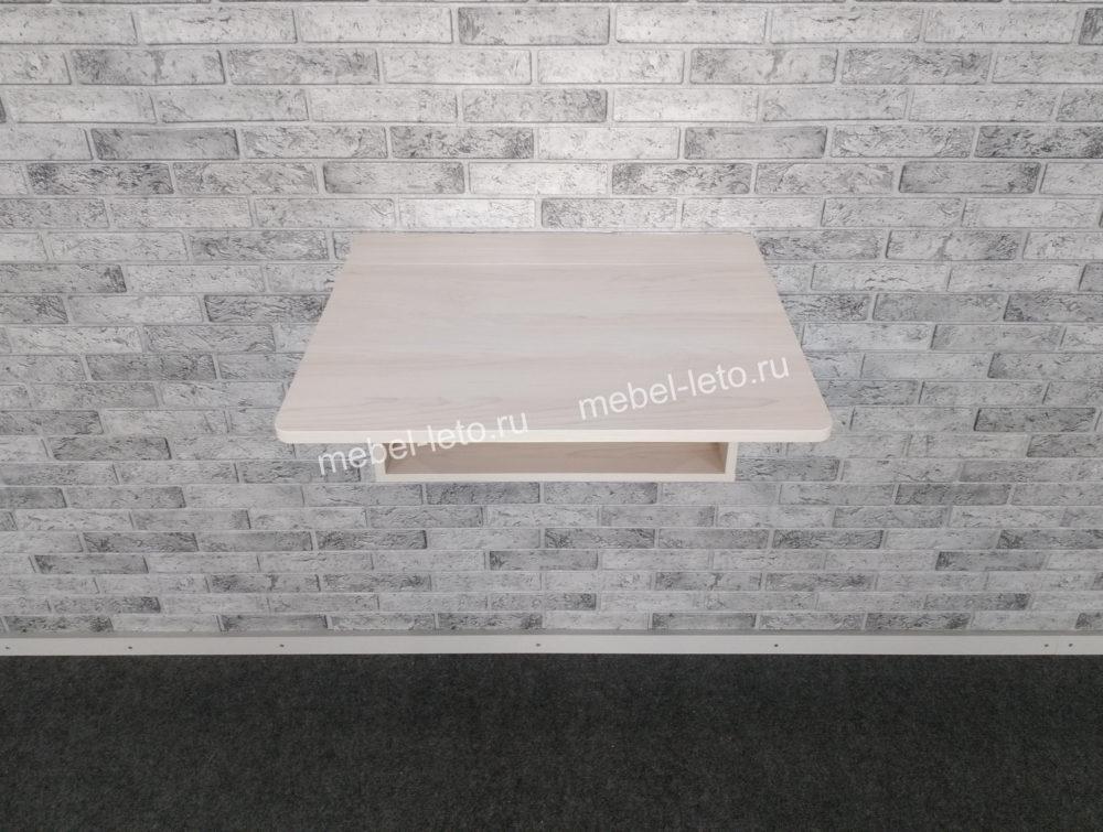 Стол настенный откидной Клён